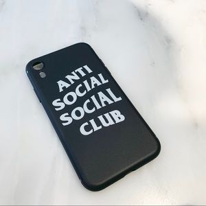 Anti Social Social Club iPhone XR Case